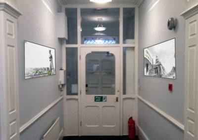 HFL Hallway Art Render