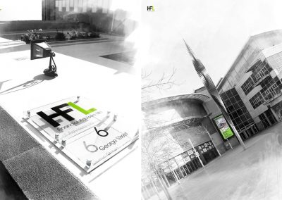 HFL Sign & Stadium