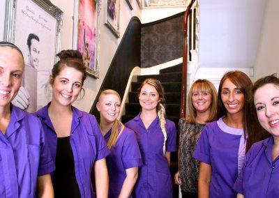 1_EMOrtho - New Staff Team Art Hallway