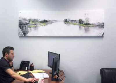 HFL Peters Office 'The Mist Rolling In From The Trent'