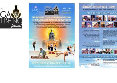 Notts Yoga Fest Branding Gallery